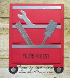 Urban District, Nailed It, Build It Framelits men boyfriend Father's Day valentines love holiday card