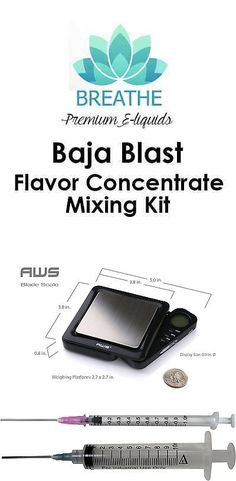 Candy Ingredients 159891: Baja Blast Clone Flavor Concentrate Juice Mixing Kit: 15 30 60Ml Vg Pg Included -> BUY IT NOW ONLY: $39.49 on eBay!