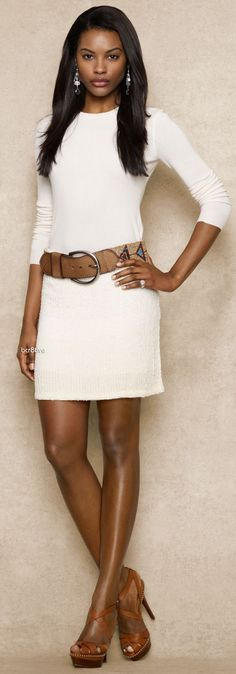 Ralph Lauren - Blue Label - Allover Sequined Skirt