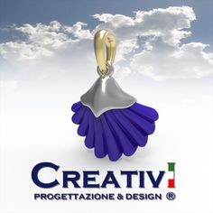 Creativi Design | Pendant Shell 3D Jewel Model Rhinoceros