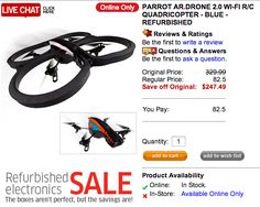 We previously reviewed the original Parrot AR.Drone back in 2010. It ...