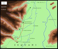 Battaglia in Alsazia contro Ariovisto 58 a.C.