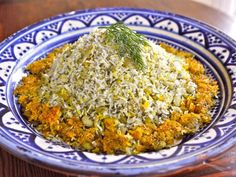 Persian Dill and Lima Bean Rice