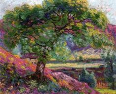 Landscape with Trees and Figures - Armand Guillaumin - The Athenaeum