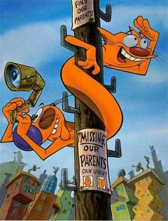caricaturas Love this show cat dog - Cartoon Kunst, Cartoon Dog, Cartoon Shows, Cartoon Characters, Cartoon Wallpaper, 90s Childhood, Childhood Memories, Cartoon Network, 2000s Cartoons