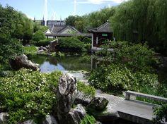 Jardines Chinos Garden park and Chinos