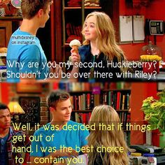 Girl Meets World (2x17) I do NOT want Lucas and Miya to get together. I DO NOT SHIP! DO NOT SHIP!!!!!!!!!!!!