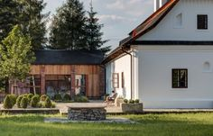 Mezi Plutky in Moravian-Silesian Region, Czechia Small Boutique Hotels, Summer Bedroom, Small Windows, Mountain Homes, Traditional House, Old Houses, Home And Garden, Cottage, Exterior