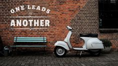 One Vespa Leads to Another Vespa GS 160