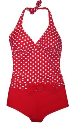 Tankini Boyshorts Swimsuit Set