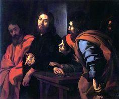 Giovanni Battista Caracciolo (Il Battistello), The Calling of Saint Matthew, c. 1620-30.