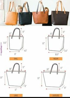 Diy bags 855824735419856703 - Sewing Bags Diy Handbags Tote Pattern Ideas Source by dulcenovex Leather Bag Pattern, Tote Pattern, Pattern Sewing, Diy Purse Patterns, Leather Bag Tutorial, Leather Bag Design, Backpack Pattern, Leather Bags Handmade, Handmade Bags