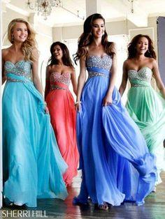 Fun group prom dress