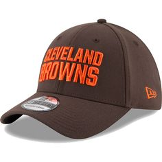 new product 56604 3335f Men s Cleveland Browns New Era Brown Team Classic 39THIRTY Flex Hat, Your  Price   28.99