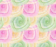 Rainbow swirl fabric by diseniaz on Spoonflower - custom fabric Rainbow Swirl, Custom Fabric, Cute Wallpapers, Spoonflower, Rose, Flowers, Plants, Pretty Phone Backgrounds, Pink
