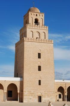 Gran Mezquita de Kairuán (Túnez), siglo IX.