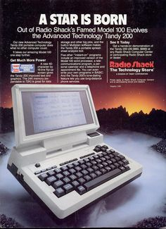 Radio Shack Computer Ad......................................Please save this pin... ........................................................... Visit!.. http://www.ebay.com/usr/prestige_online