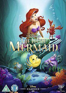 The Little Mermaid [DVD] Disney Villains O-Ring Slipcover Edition UK Import (Region Disney Classics Disney Films, Disney Cinema, Disney Dvd, Walt Disney, Disney Characters, Disney Cartoon Movies, Classic Disney Movies, Disney Animated Movies, Disney Villains