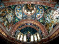 Фреска Ново-Афонского монастыря