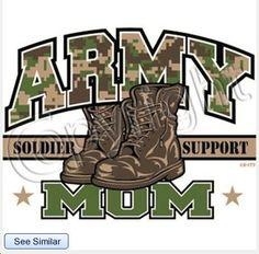 Army Mom Adult White Tshirt New Sizes S2X FREE by shirtking, $14.00