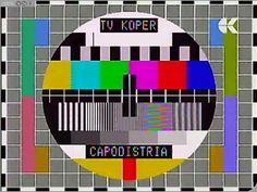 Illustration about TV color test pattern, test card for PAL and NTSC. Illustration of communication, antenna, quality - 22940436