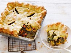 Collards and Corn Slab Pie Recipe | Food Network Kitchen | Food Network