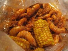 Cajun style shrimp boil, like boiling crab- it was great, but I halved the chile powder and cayenne pepper so it was just the right amount of spicy for me