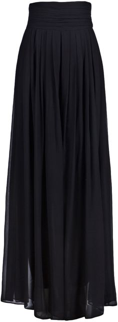 black maxi skirt to die for <3