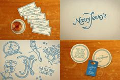 Navy Jerry's | 45 Restaurant Identity, Menu & Stationery Designs Showcase | Blog of Francesco Mugnai