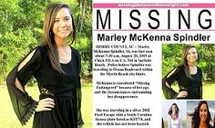 Marley McKenna Spindler disappears in South Carolina after texting friends