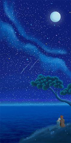 Helsa stargazing
