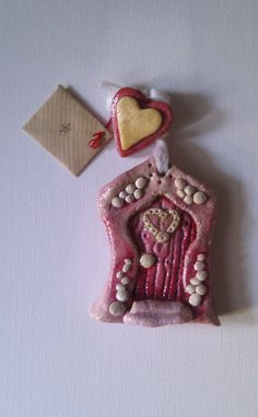 Mini Handmade Fairy Door, £5  - We wonder which fairy is behind this door ?