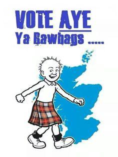 Vote Yes ya rawhags