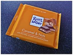 REVIEW! Ritter Sport Caramel and Nuts