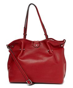 Look what I found on #zulily! Red Riley Tote #zulilyfinds