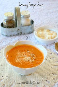Creamy Bisque Soup-