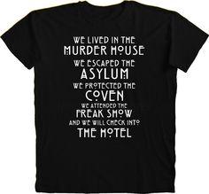 AHS hotel t-shirt - Szukaj w Google
