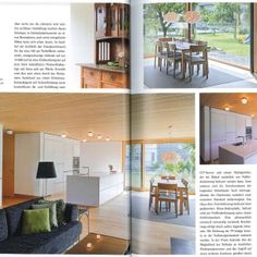 Artikel im Entree Magazin 2013 Co2 Neutral, Divider, Loft, Bed, Furniture, Home Decor, Architecture, Simple, Homes