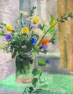 Still Life, Vase of Flowers - Christopher Wood - The Athenaeum