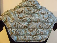 Large Microwave Heating Pad Upper Back Neck and Shoulder Wrap approx X Paisley Did you know. That doctors and chiropractors recommend Heat Therapy, for the relief of back pain caused by stra Neck Heating Pad, Shoulder Heating Pad, Diy Heating Pad, Rice Heating Pads, Sewing Hacks, Sewing Tutorials, Sewing Crafts, Sewing Projects, Sewing Basics