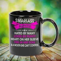 Smartass Auntie Loved by Plenty Gift Shirt Great t-shirts, mugs, bags, hoodie, sweatshirt, sleeve tee gift for aunt, auntie from niece, nephew or any girls, boys, children, friends, men, women on birthday, mother's day, father's day, Christmas or any anniversaries, holidays, occasions. Little Sister Quotes, Sister Poems, Father Daughter Quotes, Father Quotes, Little Sisters, Best Aunt Quotes, Cousin Quotes, Inspiring Quotes About Life, Inspirational Quotes