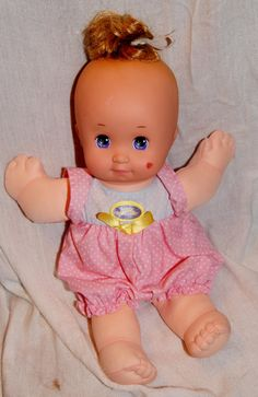 One of my favorites when I was little. I even had this outfit for one of mine. Magic Nursery Baby Doll - 1989