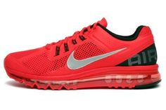 newest 239b4 25f40 Nike Air Max+ 2013 Mens Running Shoes 554886-600 Pimento 9.5 M US  (886668715179