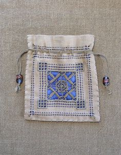 Ruskin Lace Bag by MagaMerlina, via Flickr