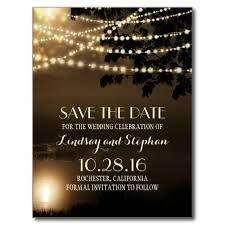 Image result for lights save the dates