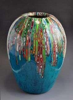 polymer clay vase- by Frank Khow?  Found on Flickr