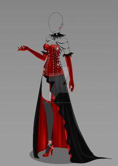 (OPEN) Auction Adopt - Outfit 345 by CherrysDesigns.deviantart.com on @DeviantArt