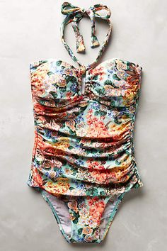 Zimmermann Garden Gaze Maillot - anthropologie.com