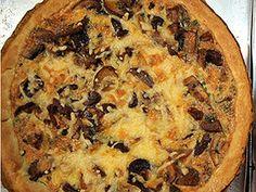 Tarta de hongos | Recetas Narda Lepes | | Utilisima.com