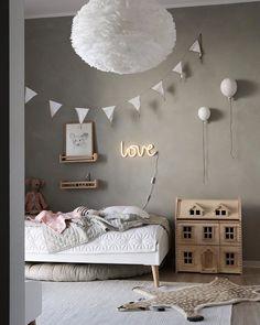 Baby Bedroom, Girls Bedroom, Childrens Room Decor, Kids Decor, Kitchen Decor Themes, Kitchen Ideas, Pretty Bedroom, Toddler Rooms, Kids Furniture